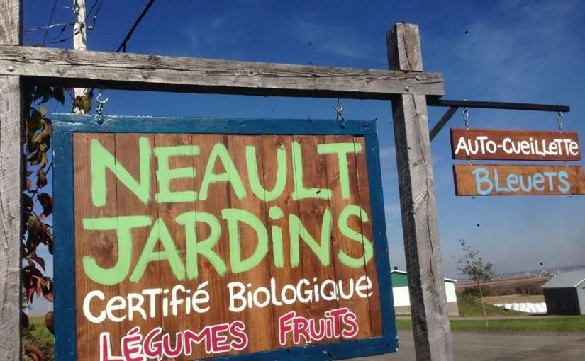 Neault Jardins - affiche
